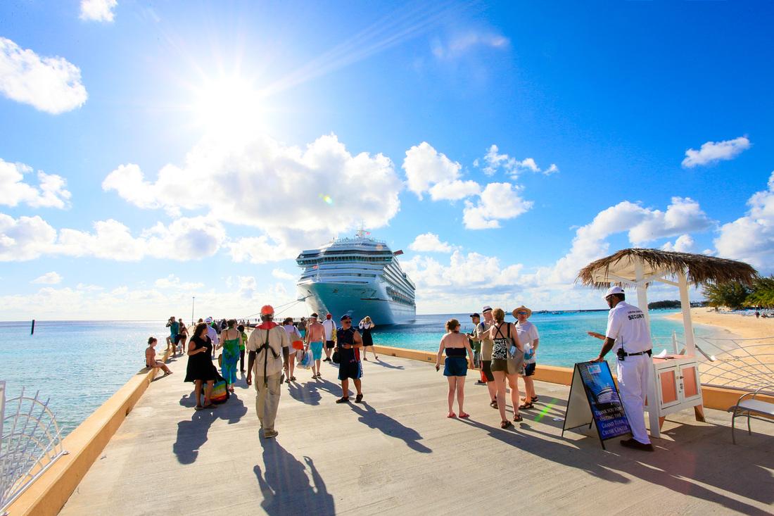 Cruise Terminal Vacation Shot
