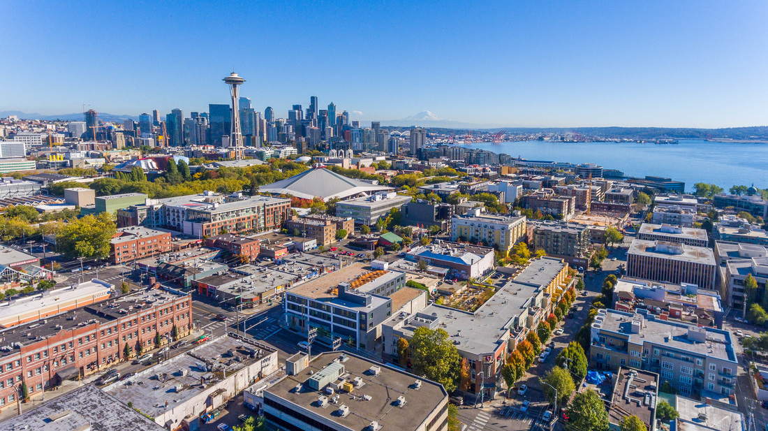 Shot of SEattle, Washington